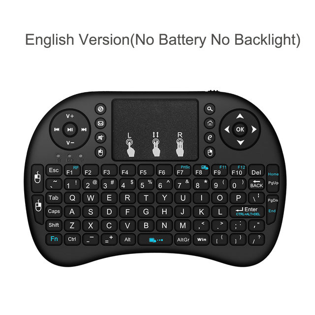 Wechip i8 Wireless Keyboard With Touchpad