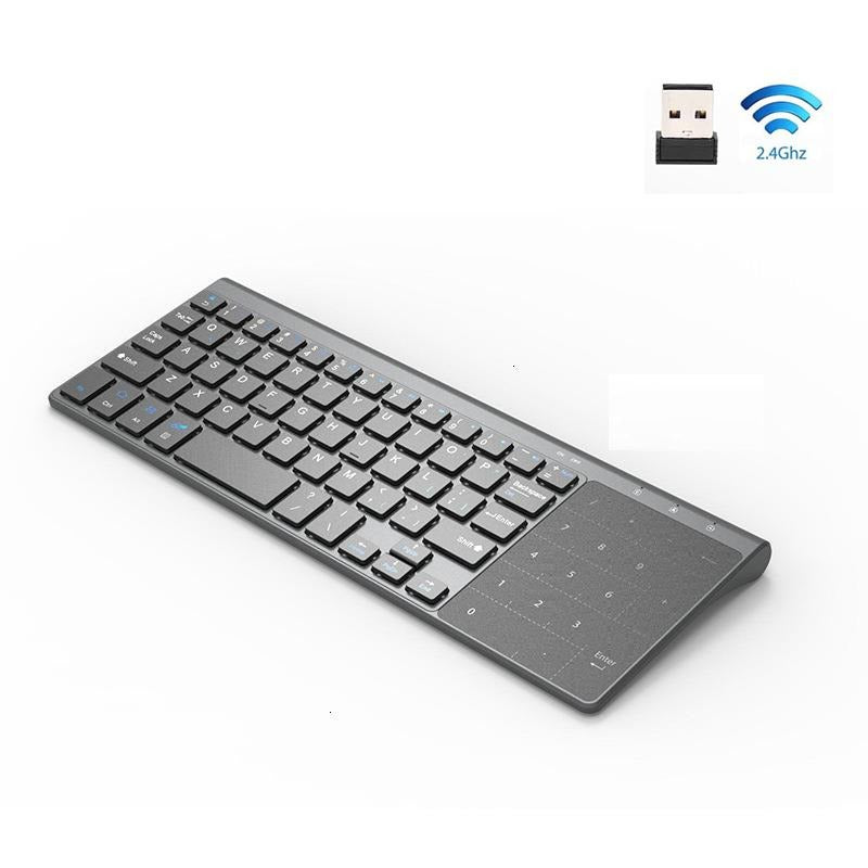 Jelly Comb 2.4G Thin Wireless Keyboard with Number Touchpad
