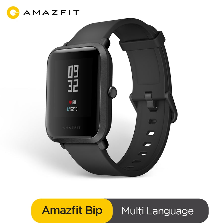 Original Amazfit Bip Smart Watch Bluetooth GPS Sport Heart Rate Monitor IP68 Notification