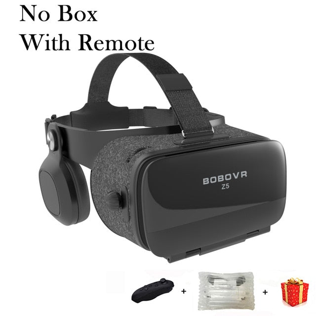 Bobovr Z5 Bobo VR Virtual Reality Glasses 3D Headset Helmet Goggles Casque For Smart Phone Smartphone Viar Binoculars Video Game