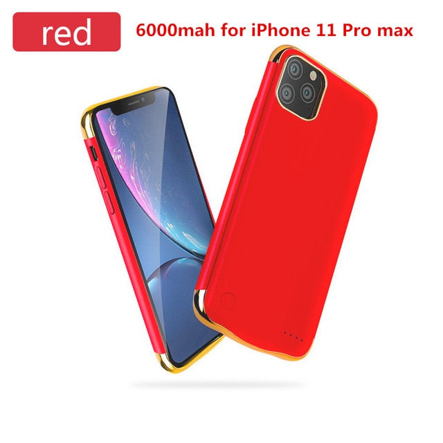 6000mAh Charging Case for iPhone 11