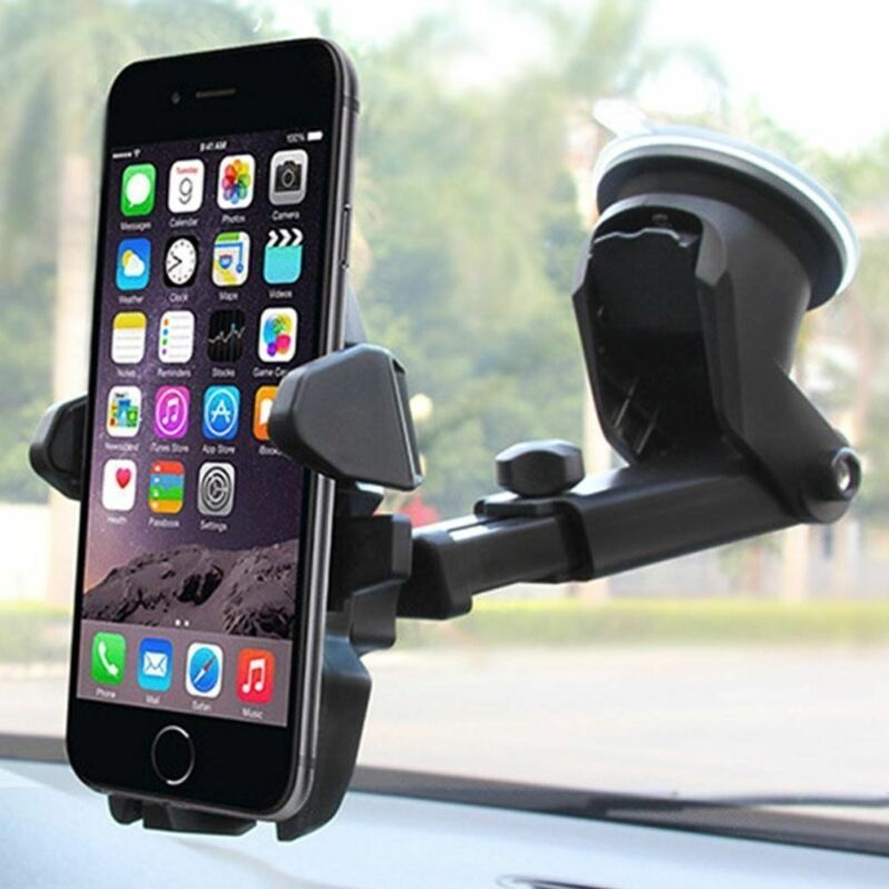 Hot Sale 360 Car Holder Slot Mount Bracket For Mobile Cell Phone iPhone GPS Universal Aotomobiles New Interior Stand