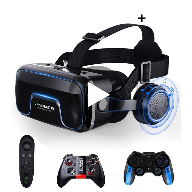 VR Shinecon 10.0 Casque Virtual Reality Headset