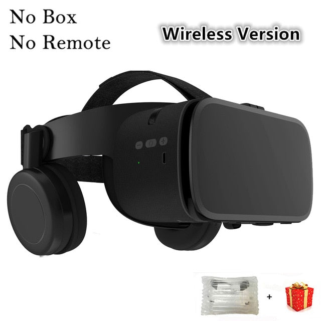 Bobo VR Bobovr Z6 Bluetooth 3 D Casque Viar 3D Glasses Virtual Reality Headset Helmet Goggles Lenses Video for Phone Smartphone