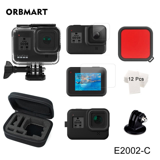 ORBMART 60M Waterproof Housing Case for GoPro