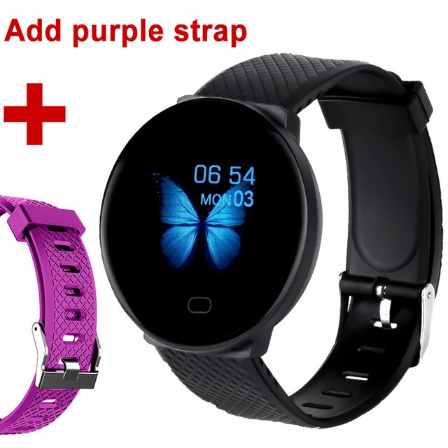 DOOLNNG 2020 D19 Smart Watch women Heart Rate Blood Pressure Health SmartWatch Men Bluetooth Watch Wristband Fitness Tracker