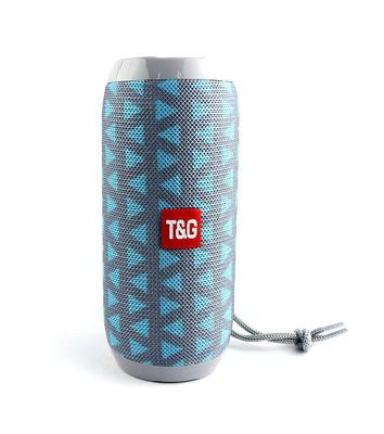 TG117 Wireless Bluetooth Speaker Support TF Card FM Radio Aux Music Player Outdoor Waterproof Portable Column Loudspeaker