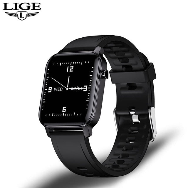 LIGE Women Smart Watch IP68 Waterproof 1.4