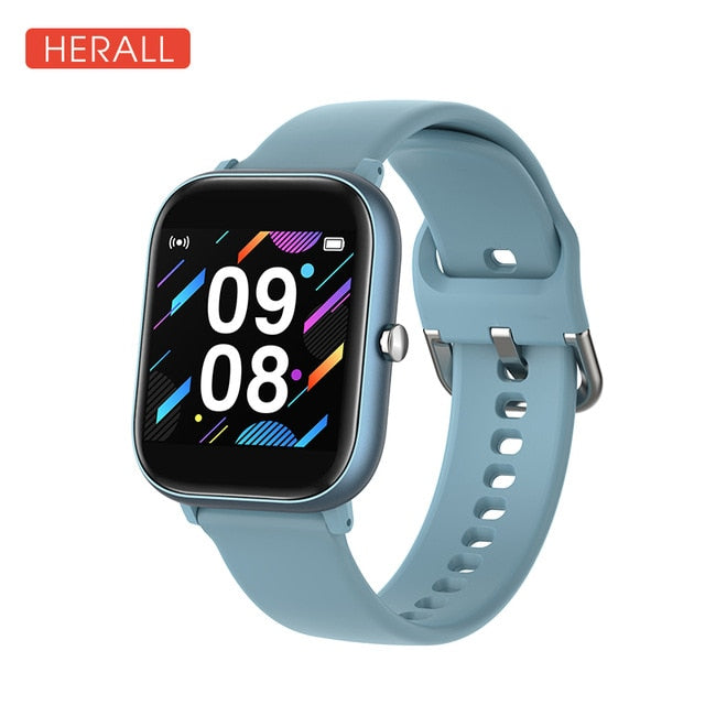 HERALL 2020 New Smart Watch Fitness Bracelet Calories Heart Rate Monitor Waterproof Sport Smartwatch