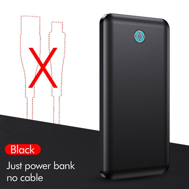 YKZ Power Bank 10000Mah Type C Usb Mini Portable Charger