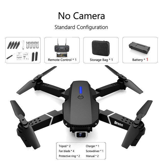 Fold FPV Drone Quadcopter with Camera