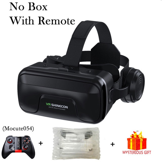 VR Shinecon 10.0 Casque Helmet 3D Glasses Virtual Reality Headset