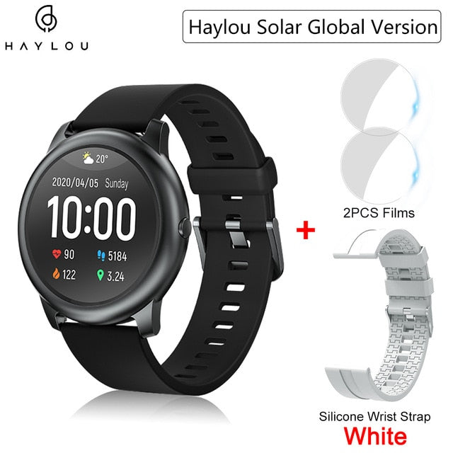 Youpin Haylou Solar Smart Watch Global Version IP68 Waterproof Sport fitness Bracelet LS05 Smartwatch