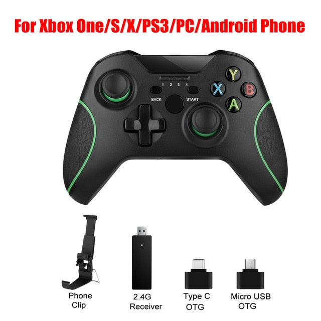 2.4G Wireless Controller For Xbox One Console For PC For Android smartphone Gamepad Joystick