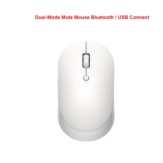 Original Xiaomi Wireless Mouse 2 1000DPI 2.4GHz /Bluetooth Optical Mute Portable Light Mini Laptop Notebook Office Gaming Mouse