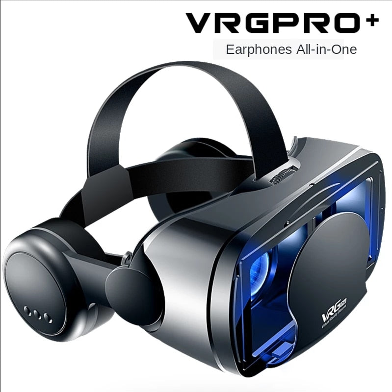 VRG Pro VR Glasses 3D Headset Virtual Reality Audio Video All-in-one 5~7 inch Mobile Phone Dedicated Glasses Detachable