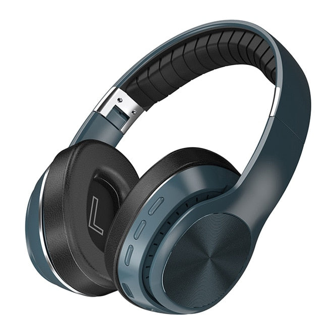 HiFi Headphones Wireless Bluetooth 5.0 Foldable Support TF Card/FM Radio/Bluetooth AUX Mode Stereo Headset With Mic Deep Bass
