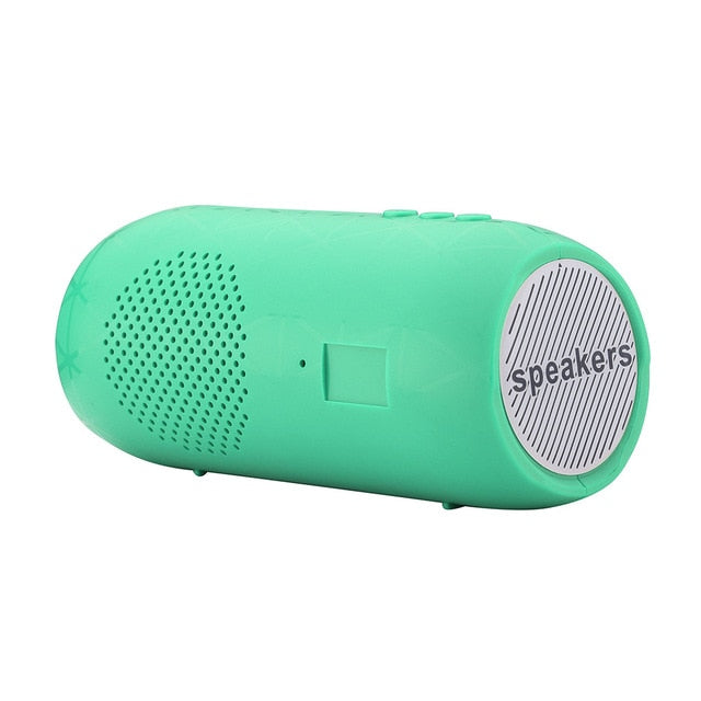 Portable Wireless Bluetooth Stereo SD Card FM Speaker For Smartphone Tablet PC for iphone for HUAWEI for xiaomi for Samsung 2021