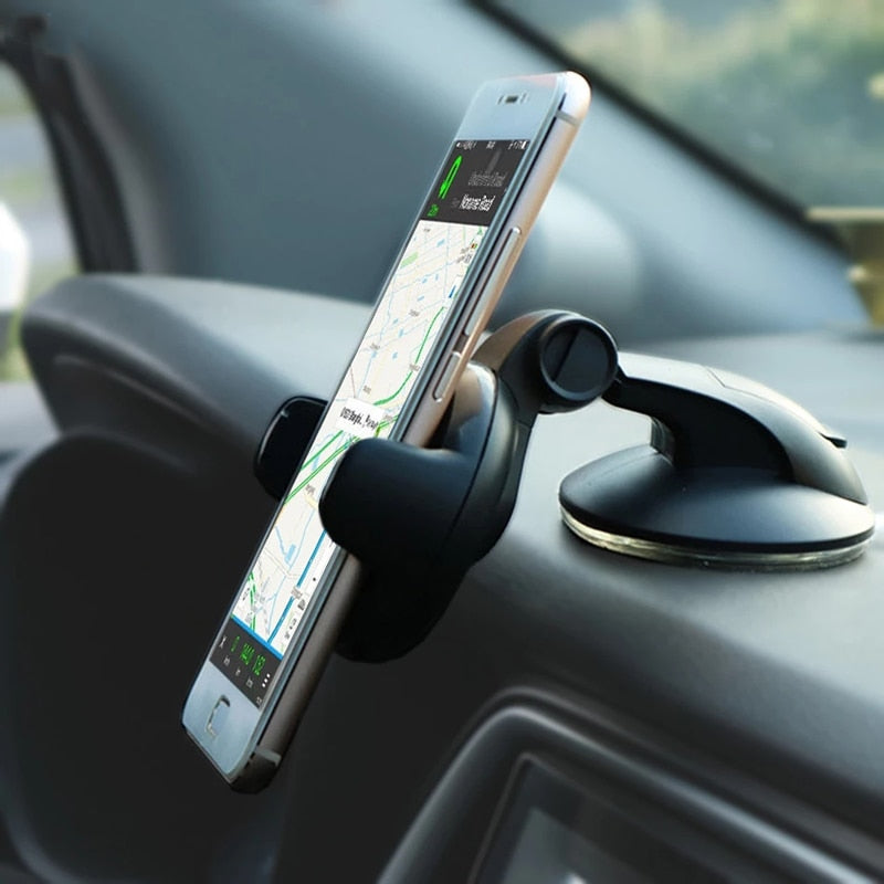 Universal Mobile Car Phone Holder For Phone in Car Holder Windshield Cell Stand support smartphone voiture Suporte Porta Celular