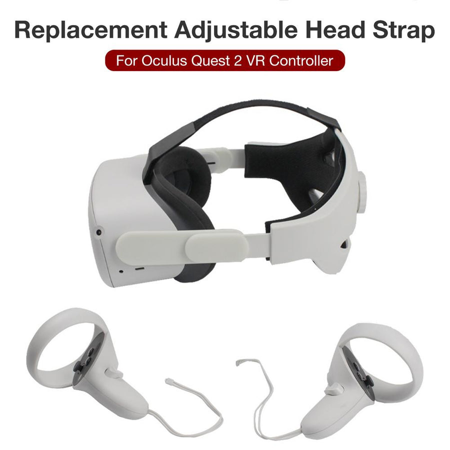 Adjustable Replacement Head Strap Headband For Oculus Quest 2 VR Glasses Headset Support For Quest2 Virtual Reality Accessories