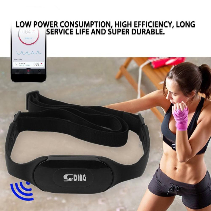 2020 Waterproof Bluetooth 4.0 Wireless Heart Rate Monitor Wireless Heart Beat Belt Sports Perform Calories and Fat Calculation