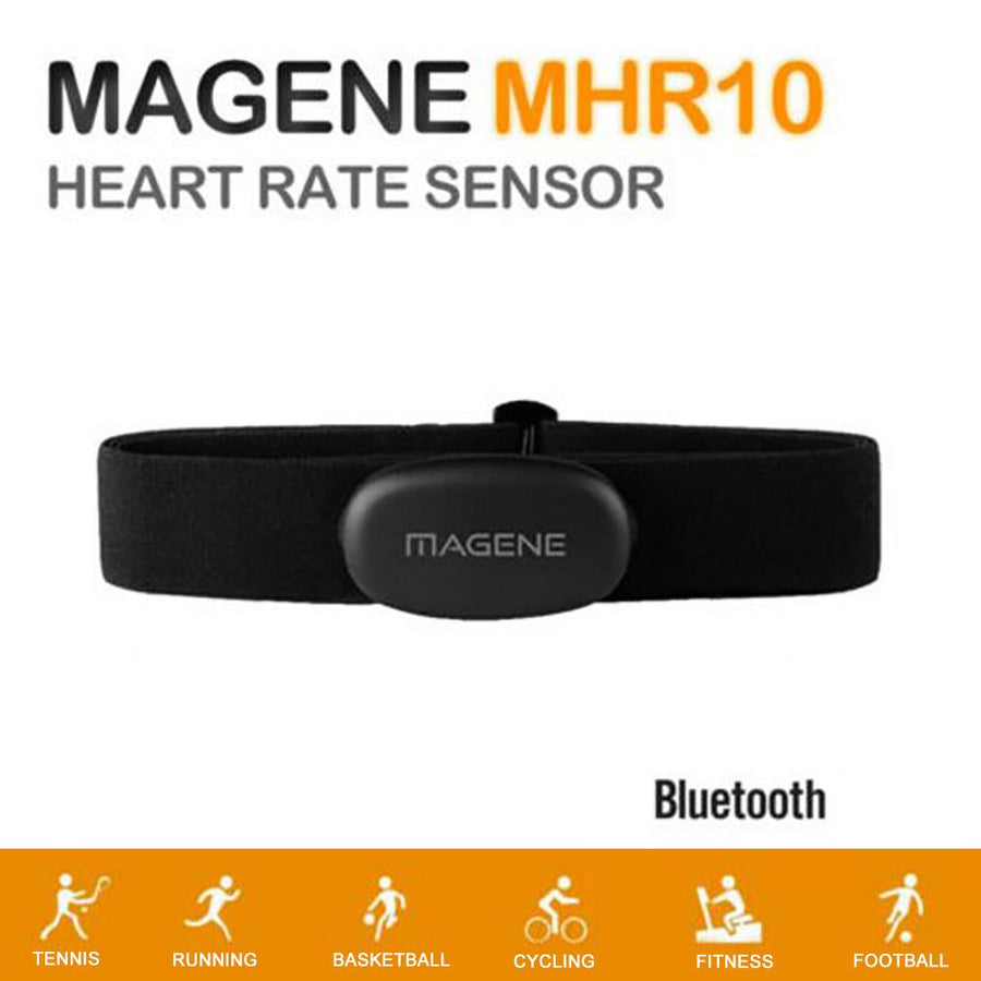 MHR10 Bluetooth 4.0 ANT+ Fitness Running Cycling Heart Rate Monitor Chest Strap