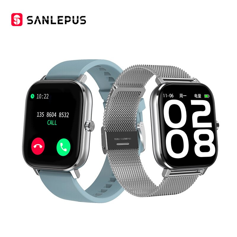 2020 SANLEPUS ECG Smart Watch Bluetooth Call IP67 Waterproof Smartwatch Men Women Heart Rate Monitor For Android GTS Apple Phone