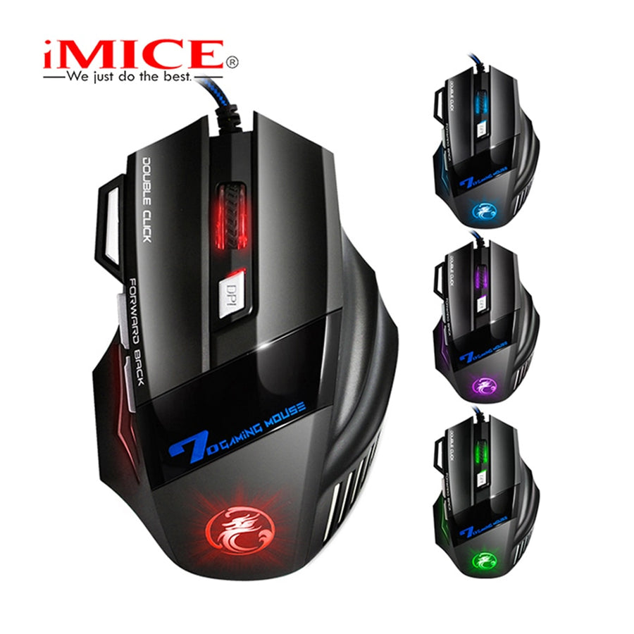 Wired Gaming Mouse 7 Buttons