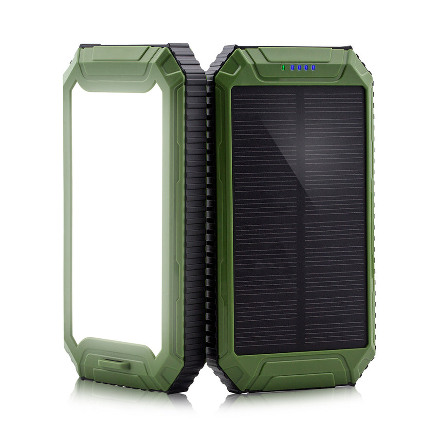 PowerGreen Solar Li-polymer Battery Power Banks 10000mAh