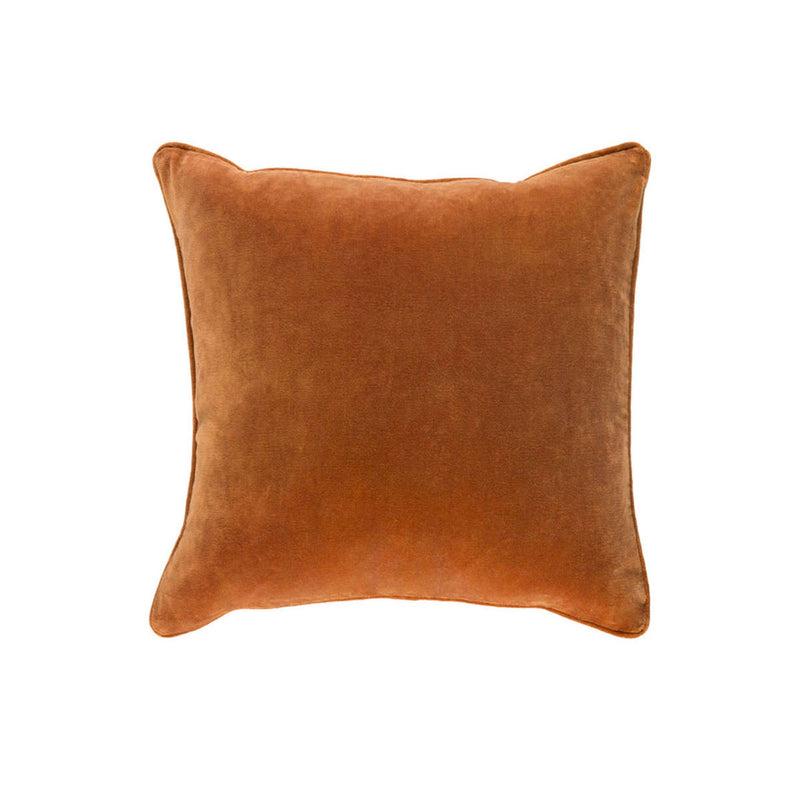 Claude Pillow Cover - Rust