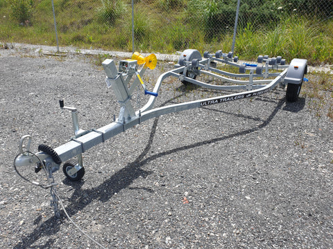 Boats 14 - 15ft / 4.3 - 4.6m : Premium Single Axle Boat Trailer, Model 485