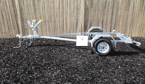 Boats 10 - 12ft / 3.0 - 3.6m : Premium Single Axle Boat Trailer, Model 380