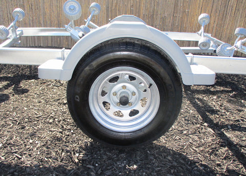 Trailer Heavy Duty Plastic Guards