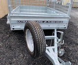 10x6 Single Axle Premium Heavy Duty Galvanized Box Trailer