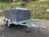 10x5 Premium Tandem Axle Heavy Duty Galvanized Box Trailer