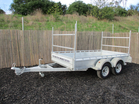 Box Trailer 2 Tier H Bars