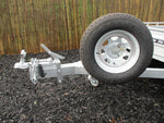 10x5 Premium Single Axle Heavy Duty Galvanized Box Trailer