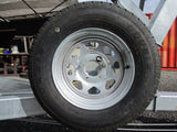 Trailer Spare Wheel + Bracket