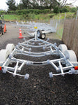 Boats 17 - 18ft / 5.2 - 5.5m : Premium Tandem Axle Boat Trailer, Model 575
