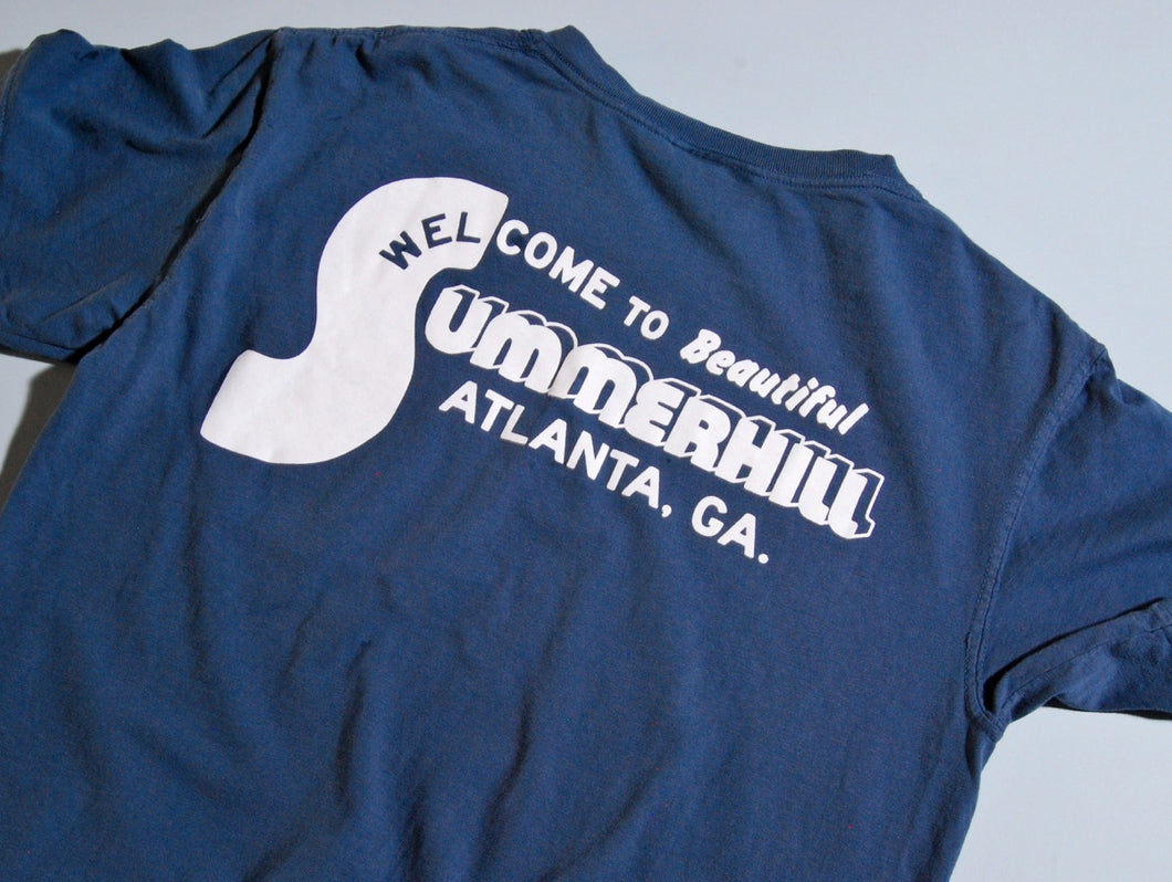 Summerhill Pocket T-shirt (Navy)