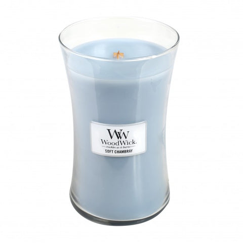 WoodWick Large - Soft Chambray