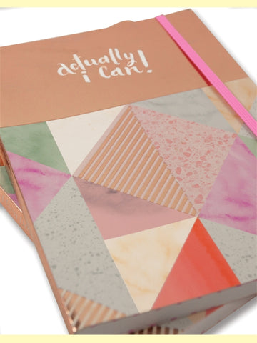 'Actually I Can' A5 Notebook