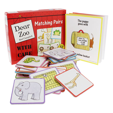 Dear Zoo Matching Pairs