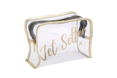 'Jet Setter' Clear Make Up