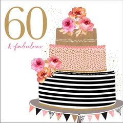 Card: 60th and Fabulous