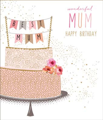 Card: Happy Birthday Mum