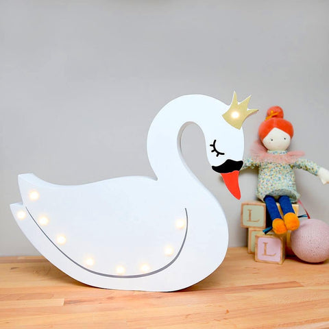 Light Up Swan