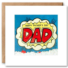 Card: Happy Fathers Day Dad