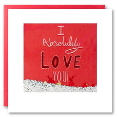 Card: I Absolutely Love You
