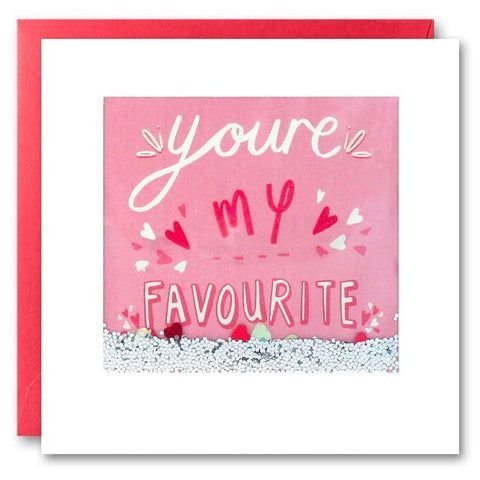 Card: You're My Favourite
